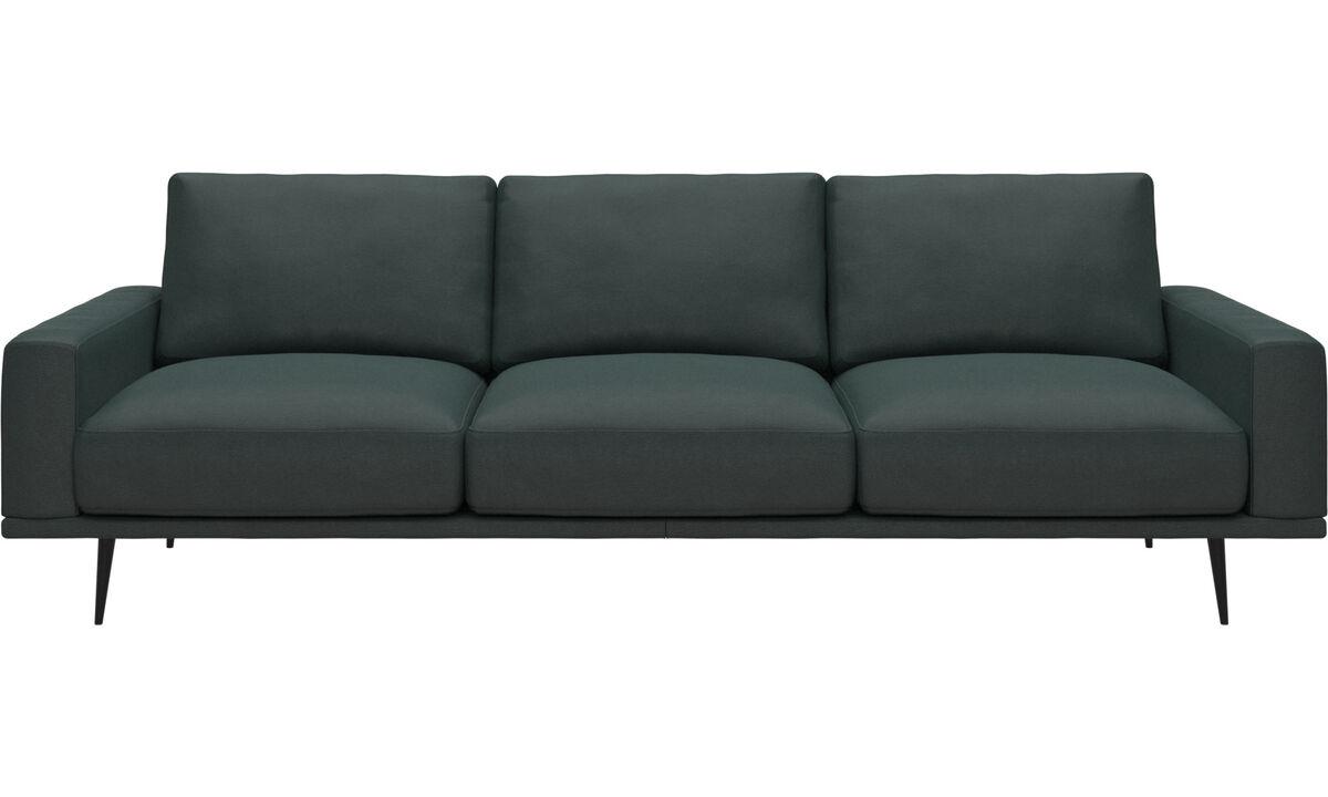 3-sitzer Sofas - Carlton Sofa - Grün - Stoff