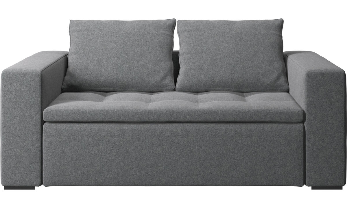 Unsere Neuheiten - Mezzo Sofa - Grau - Stoff
