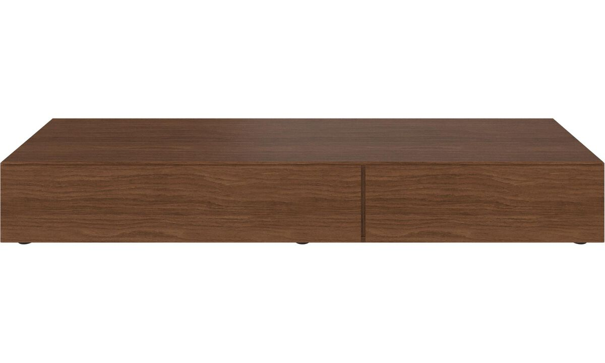 New designs - Lugano base cabinet with drop down doors - Walnut