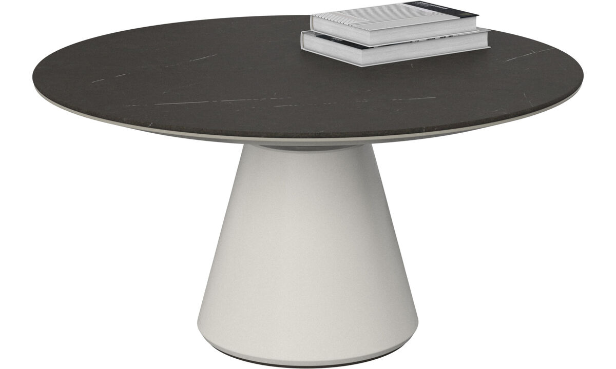 Coffee tables - Madrid coffee table - round - Black - Ceramic