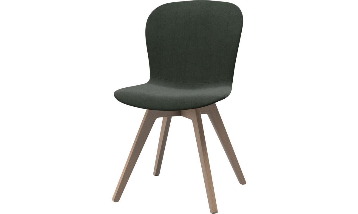 Chaises - chaise Adelaide - Vert - Tissu