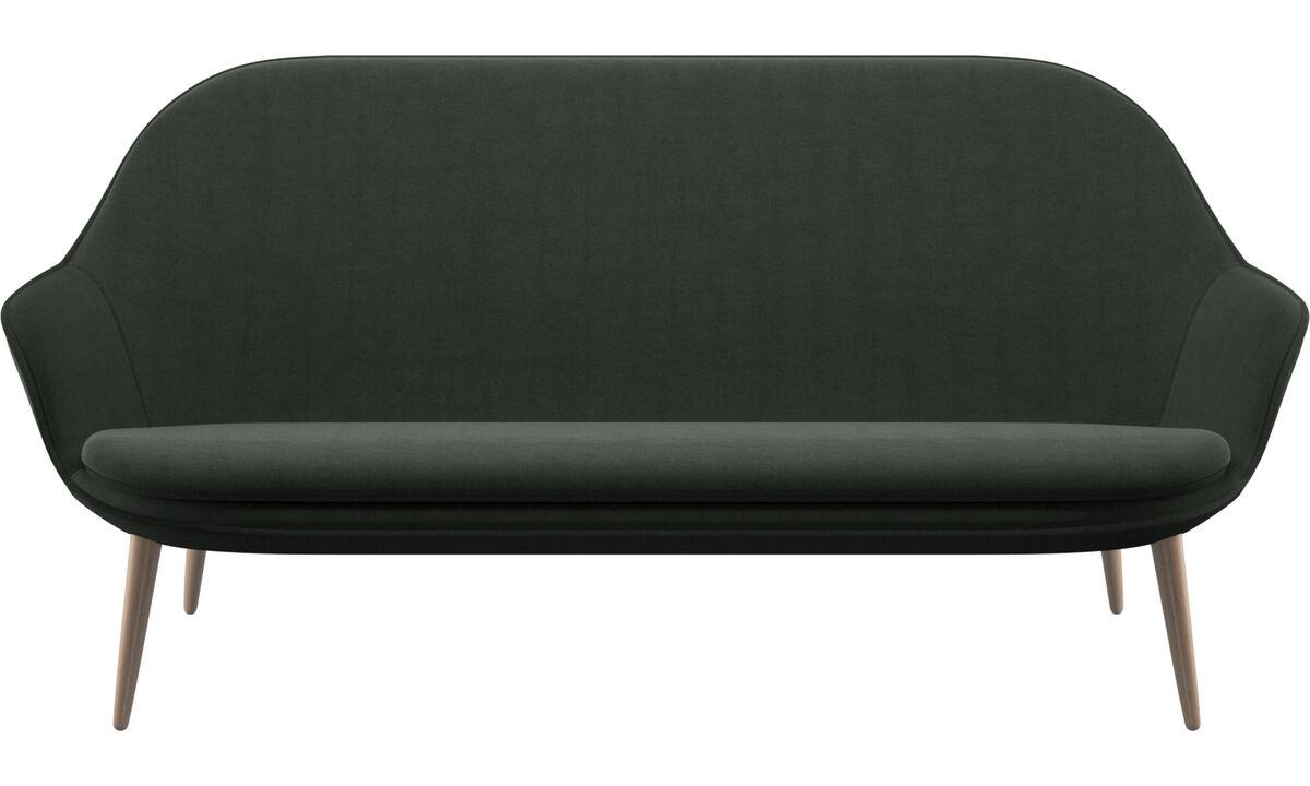 2.5 seater sofas - Adelaide sofa - Green - Fabric