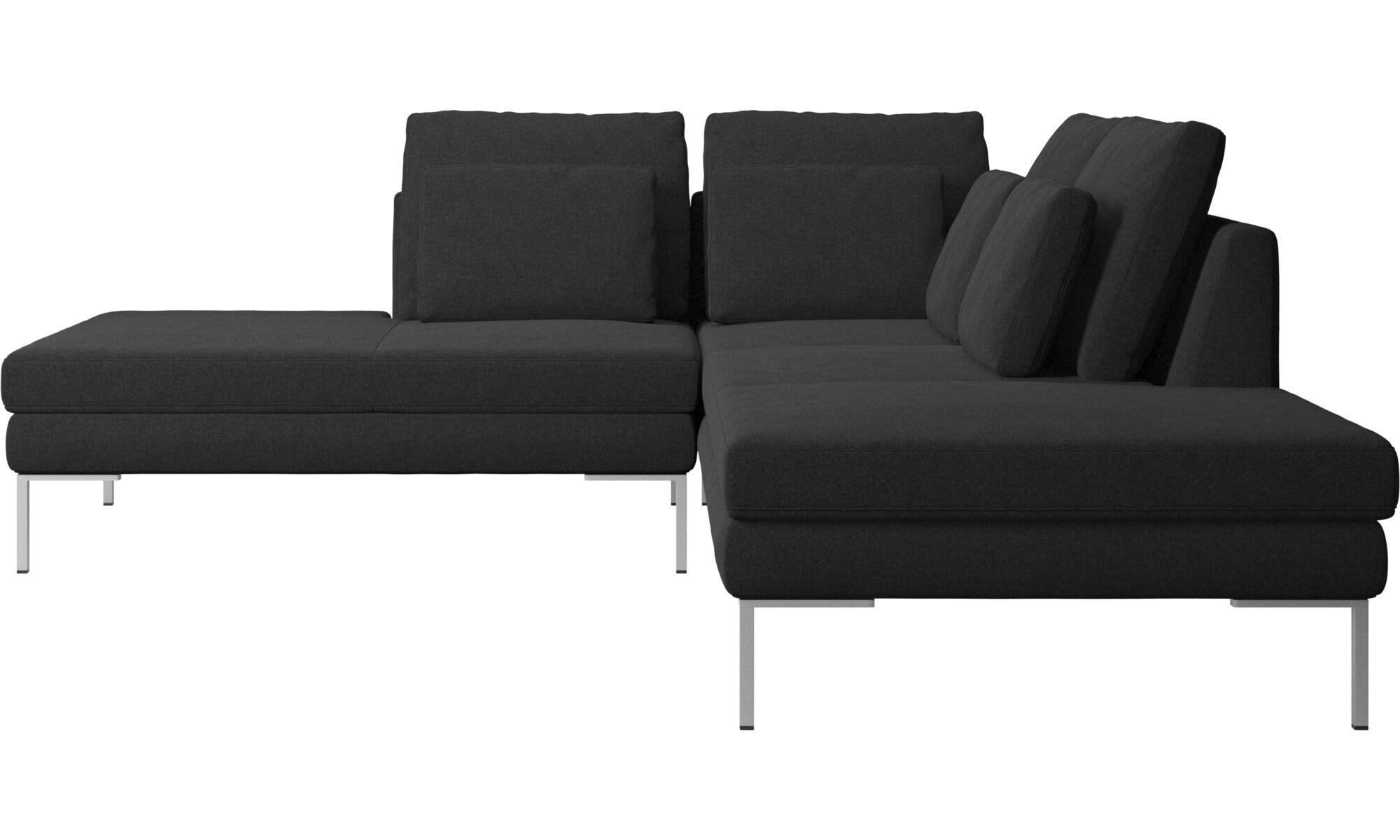 Lounge Sofas   Istra 2 Sofa Mit Loungemodul   Grau   Stoff ...