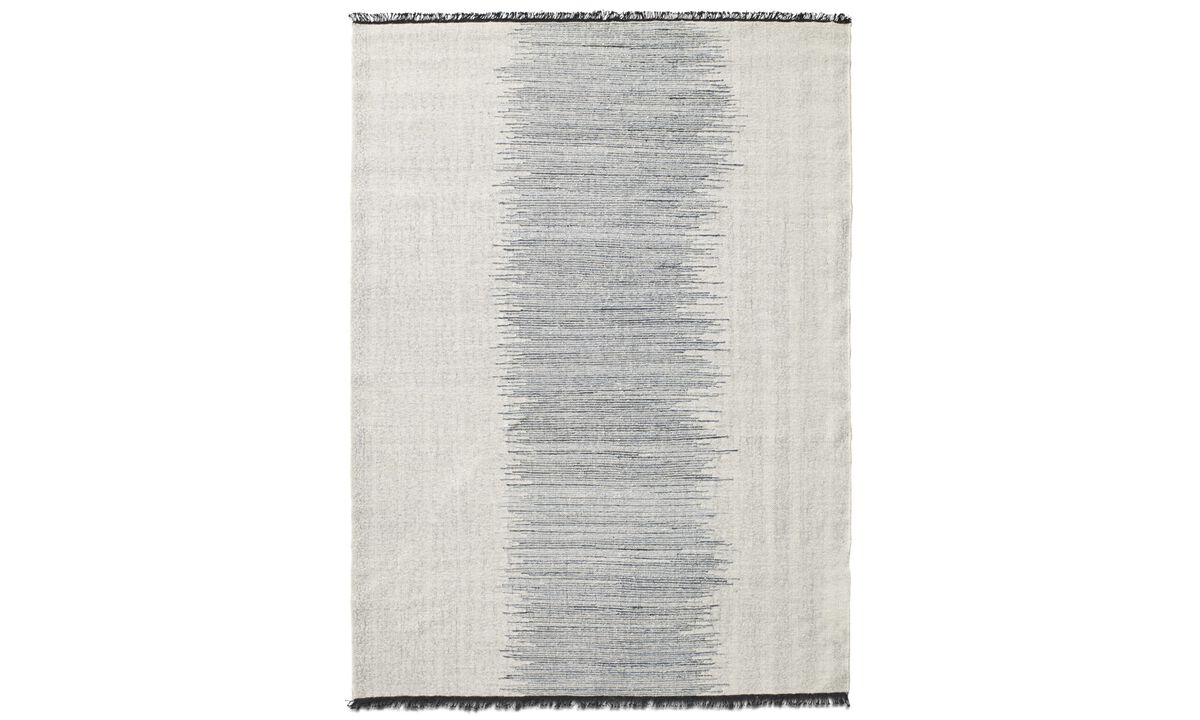 Rectangular rugs - Usaki rug - rectangular - Blue - Fabric