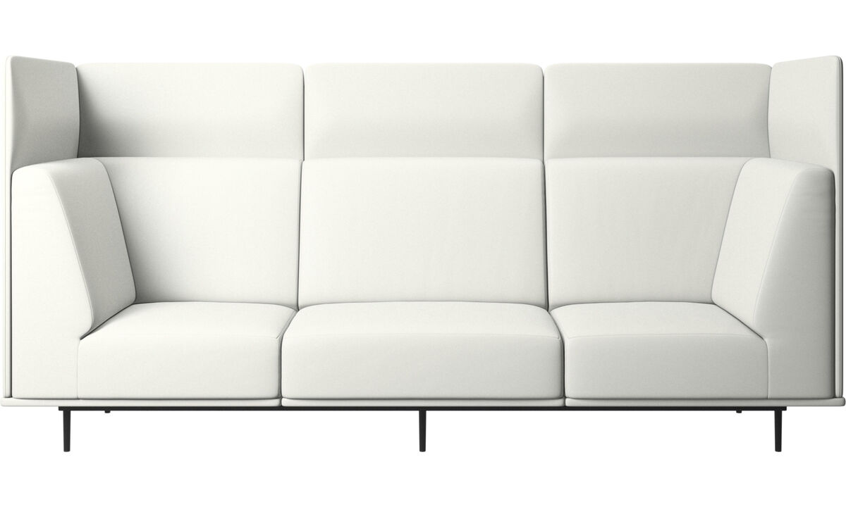 Modular sofas - Toulouse sofa - White - Leather