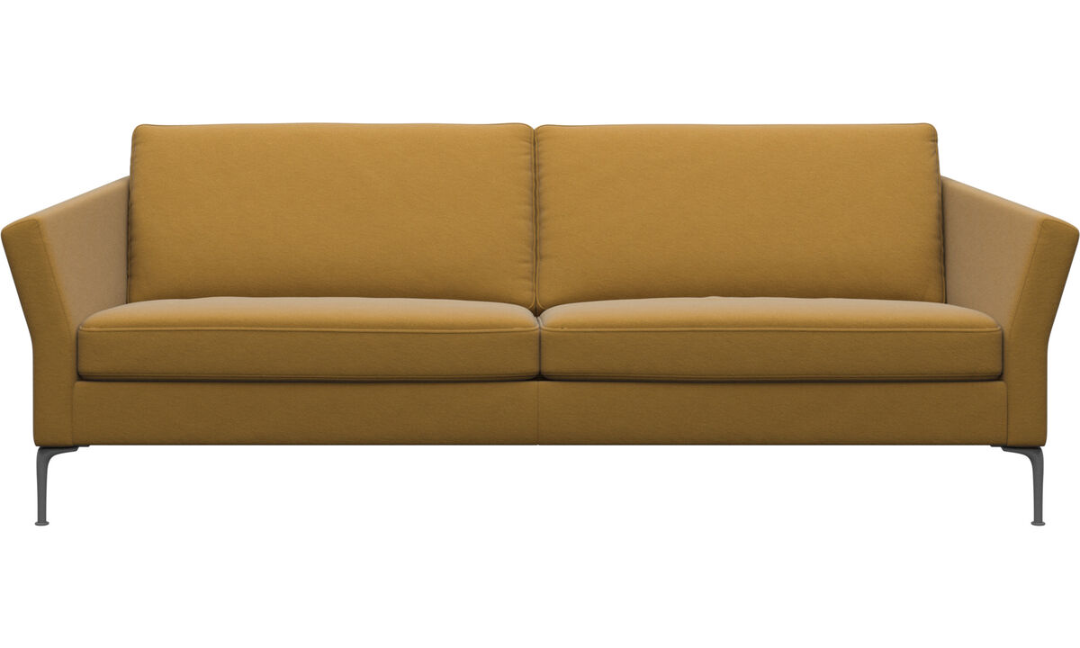 3 seater sofas - Marseille sofa - Yellow - Fabric