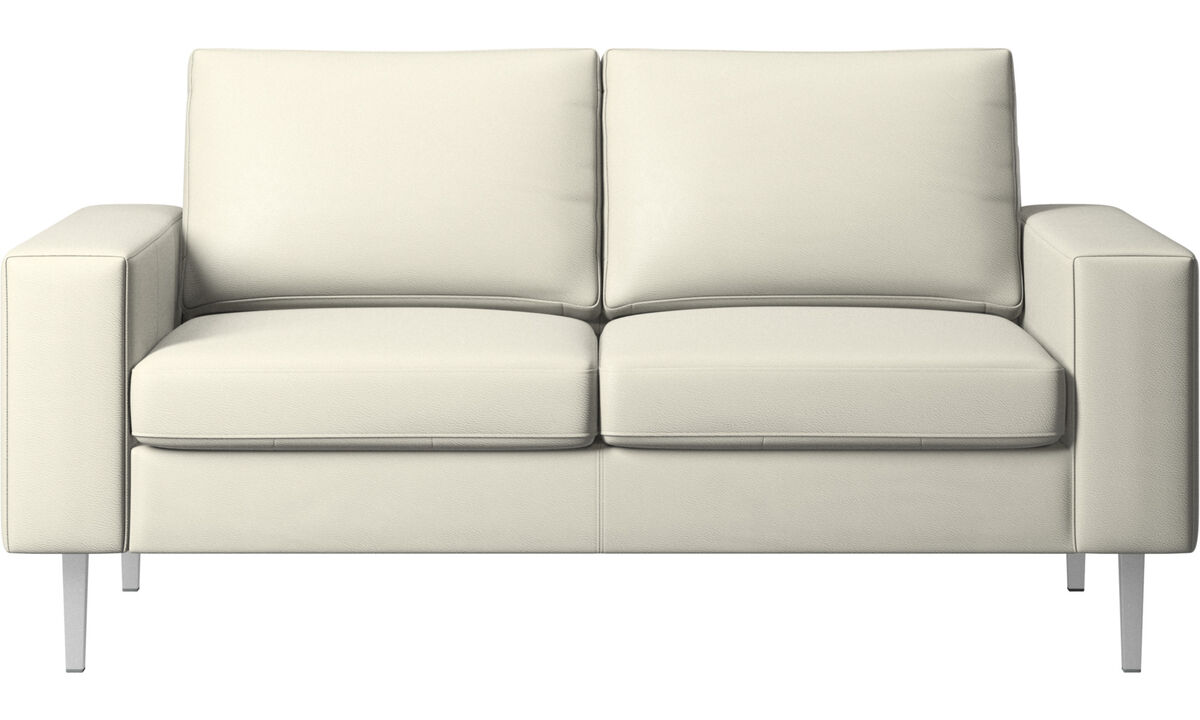 Sofas - Indivi 2 sofa - Beige - Leather