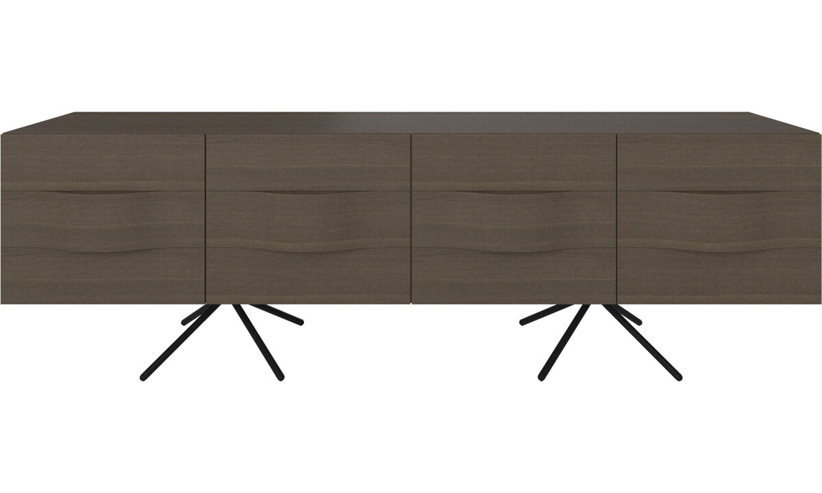 Sideboards - Ottawa sideboard - Brown - Lacquered