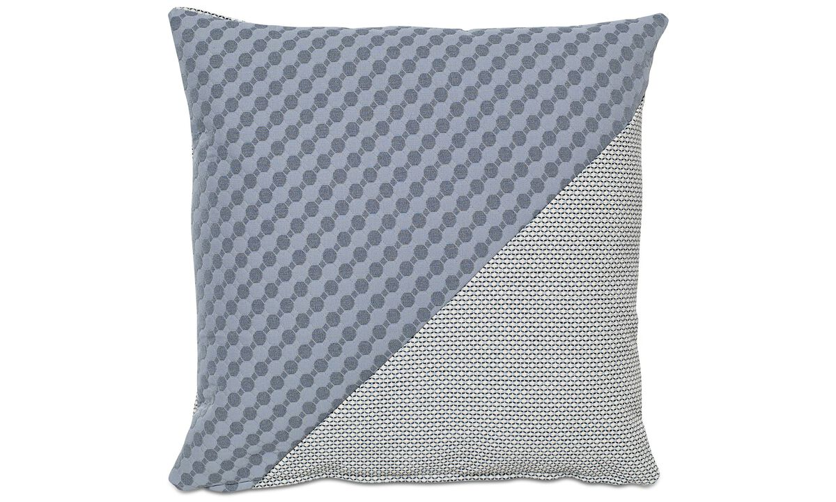 Cushions - Combi Hive cushion - Blue - Fabric