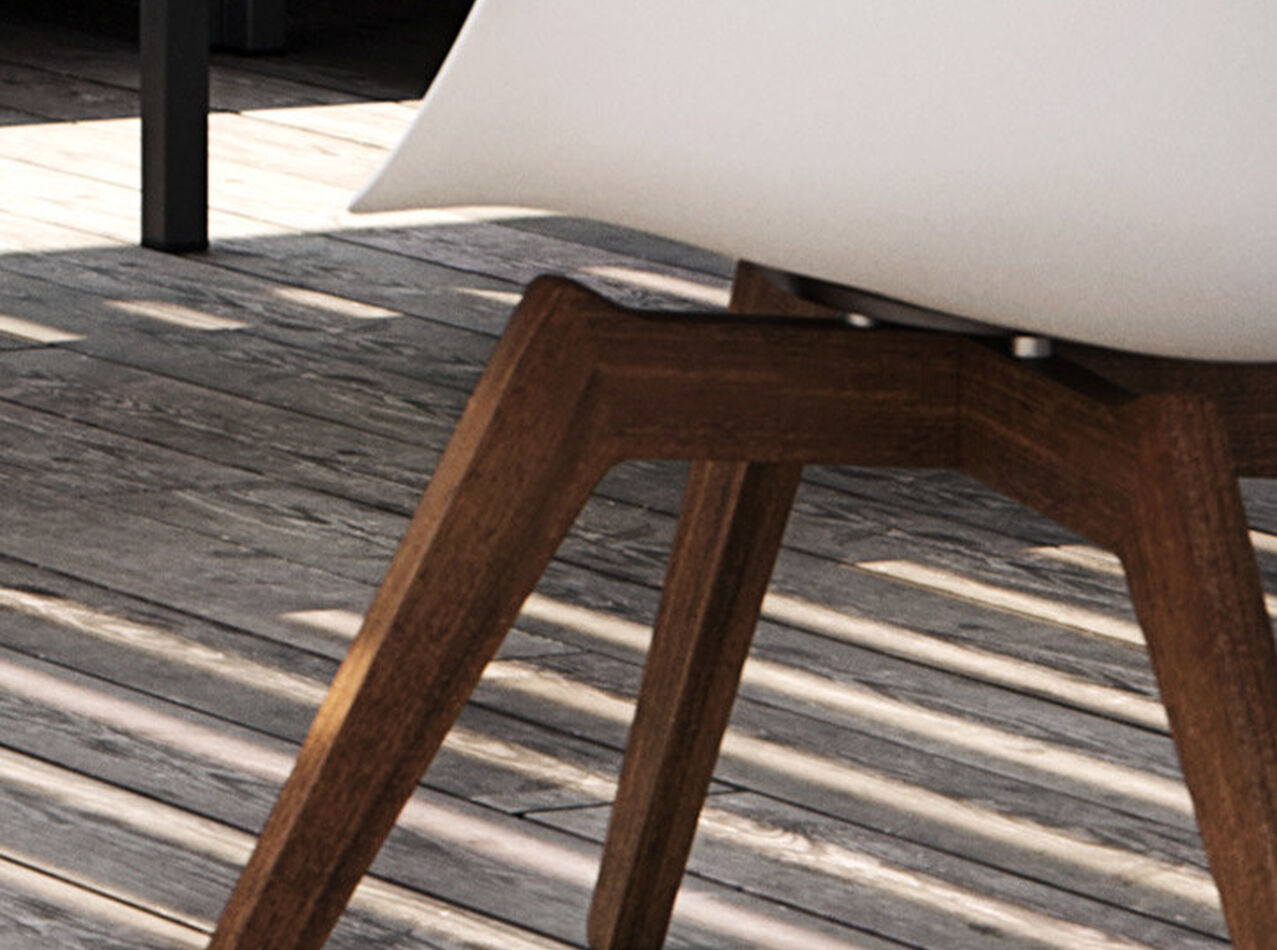 Outdoor lounge furniture - Adelaide Lounge chair (for in and outdoor use)