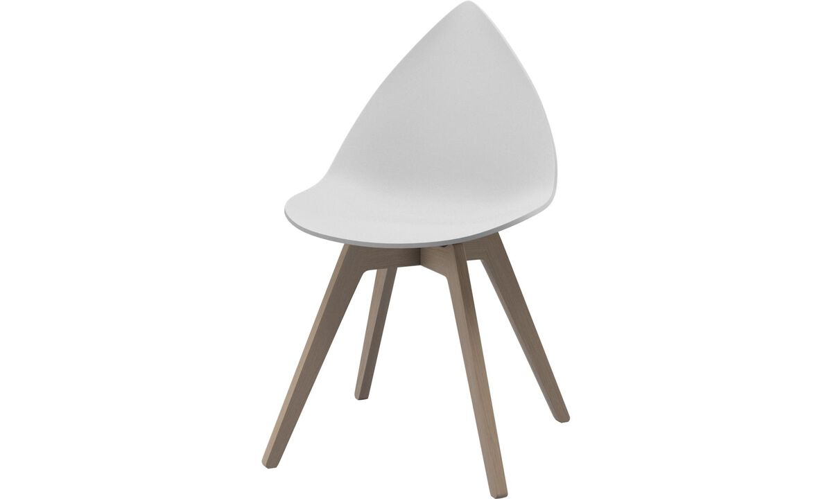 Dining chairs - Ottawa chair - White - Plastic