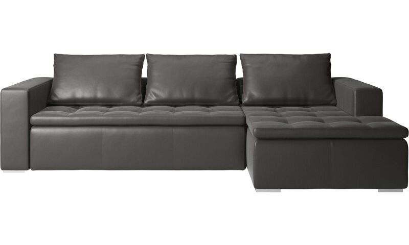 Chaise lounge sofas Mezzo sofa with resting unit BoConcept