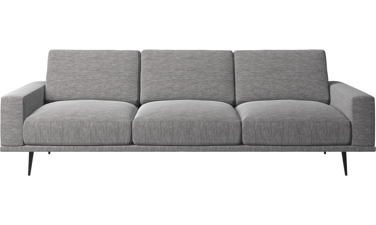 3-sitzer Sofas - Carlton Sofa - Grau - Stoff