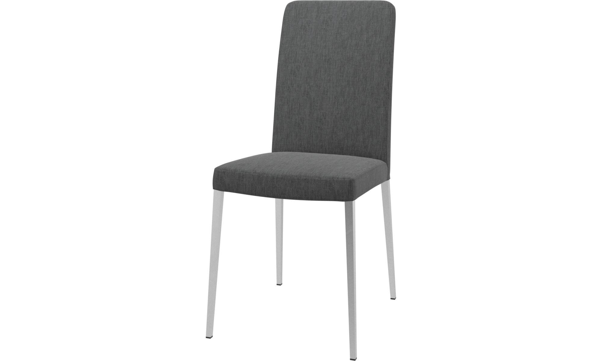 Incroyable Dining Chairs   Nico Chair   Gray   Fabric ...