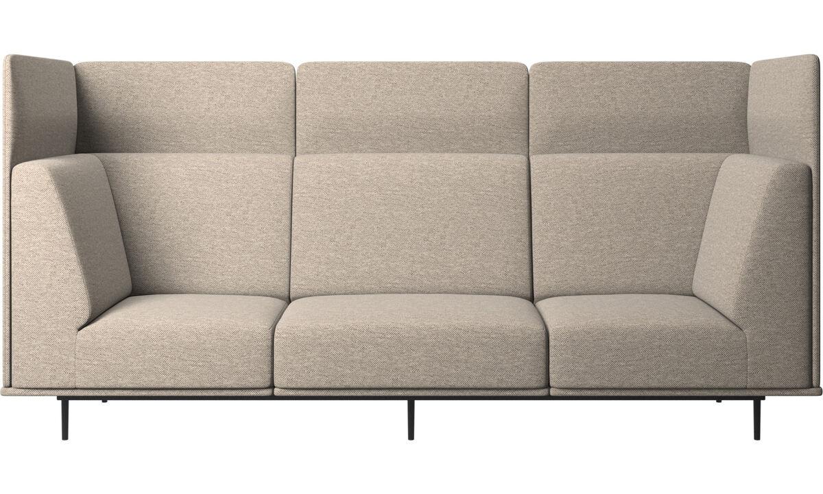Трехместные диваны - Диван Toulouse - Бежевого цвета - Tкань