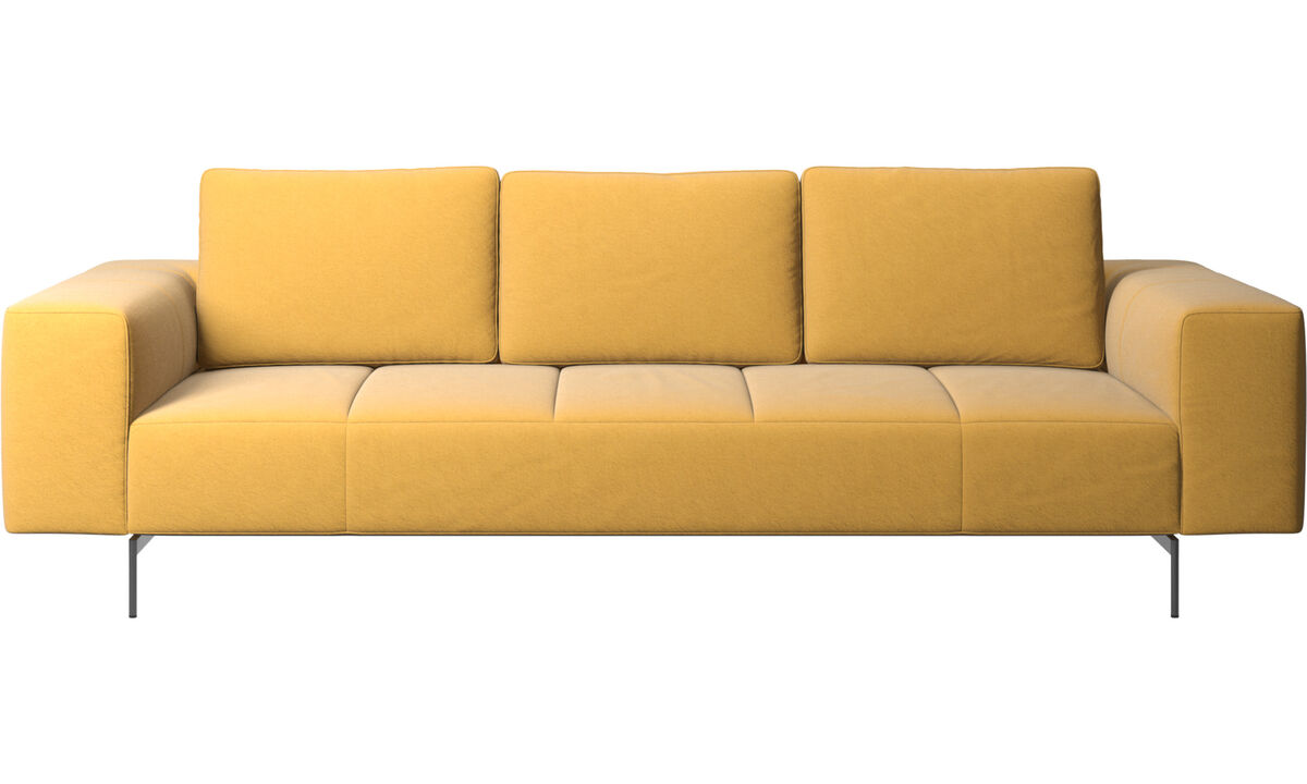 Sofás modulares - Sofá Amsterdam - En amarillo - Tela