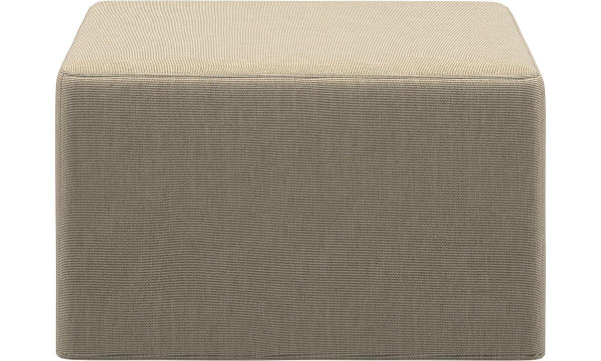 Диваны-кровати - Пуф Xtra с функцией сна - Коричневого цвета - Tкань