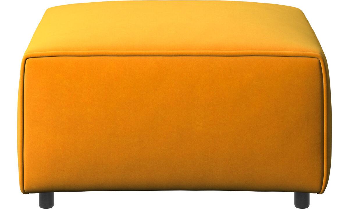 Sofás modulares - puf Carmo - Naranja - Tela