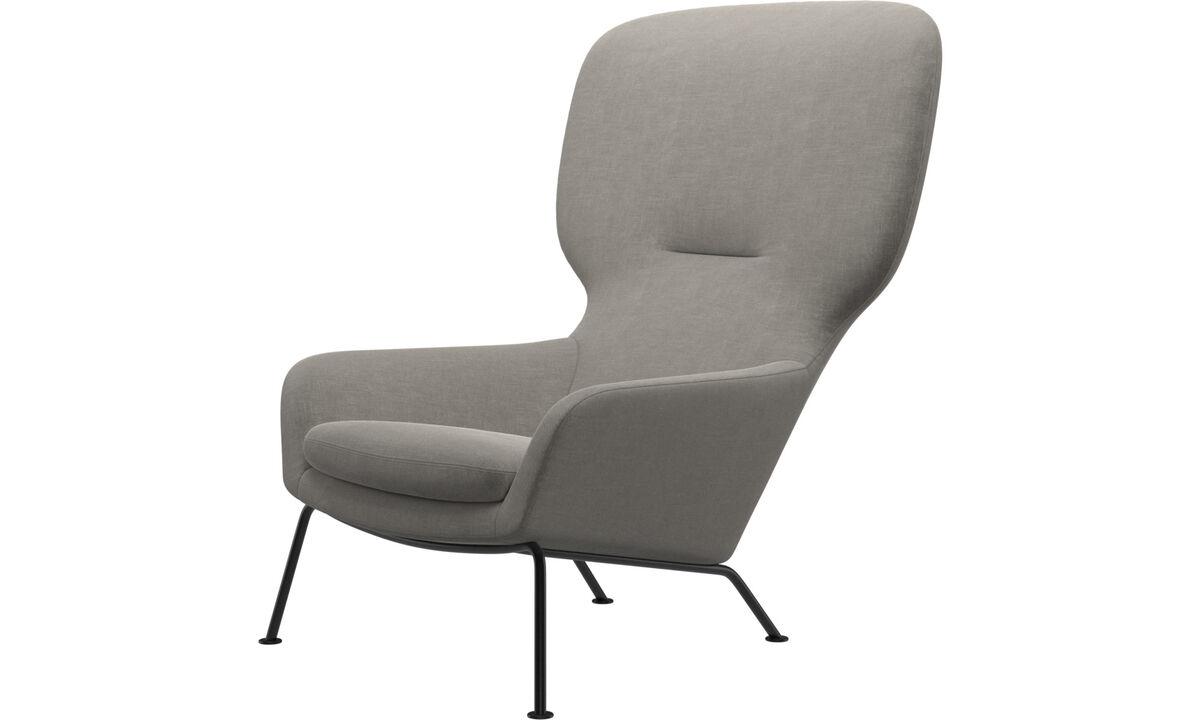 Armchairs - Dublin chair - Grey - Fabric
