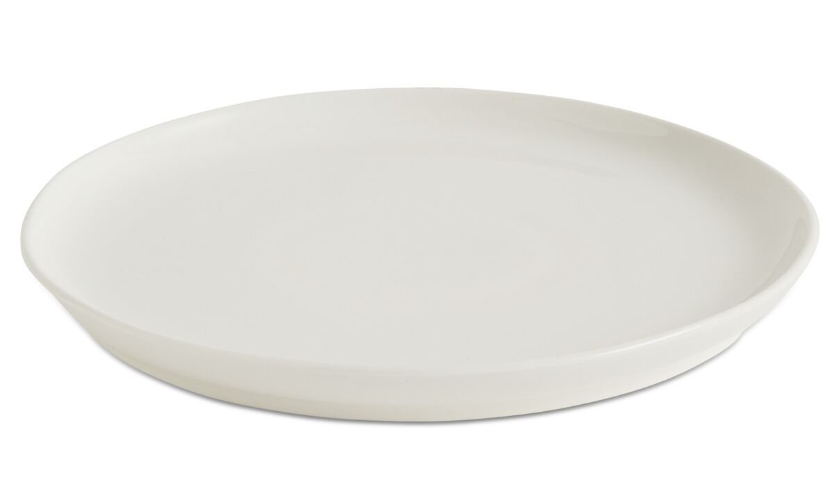 Dinnerware - nora lunch plate - White - Ceramic