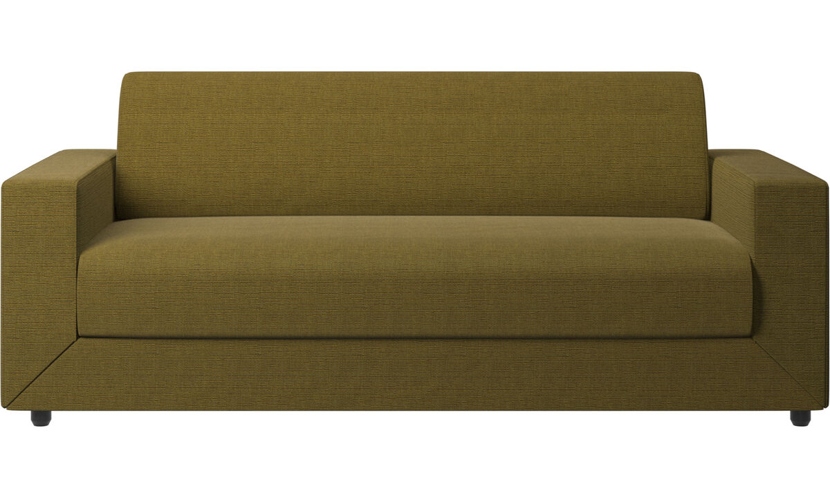 Sofas - Stockholm sofa bed - Yellow - Fabric