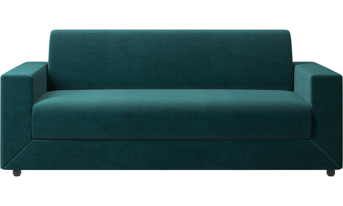 Sofás cama - sofá cama Stockholm - En azul - Tela