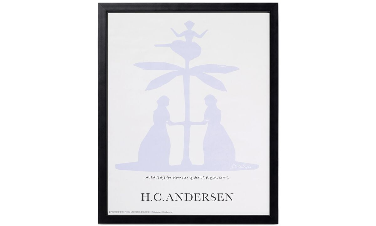 Gallery - H.C. Andersen II art on paper - Wood