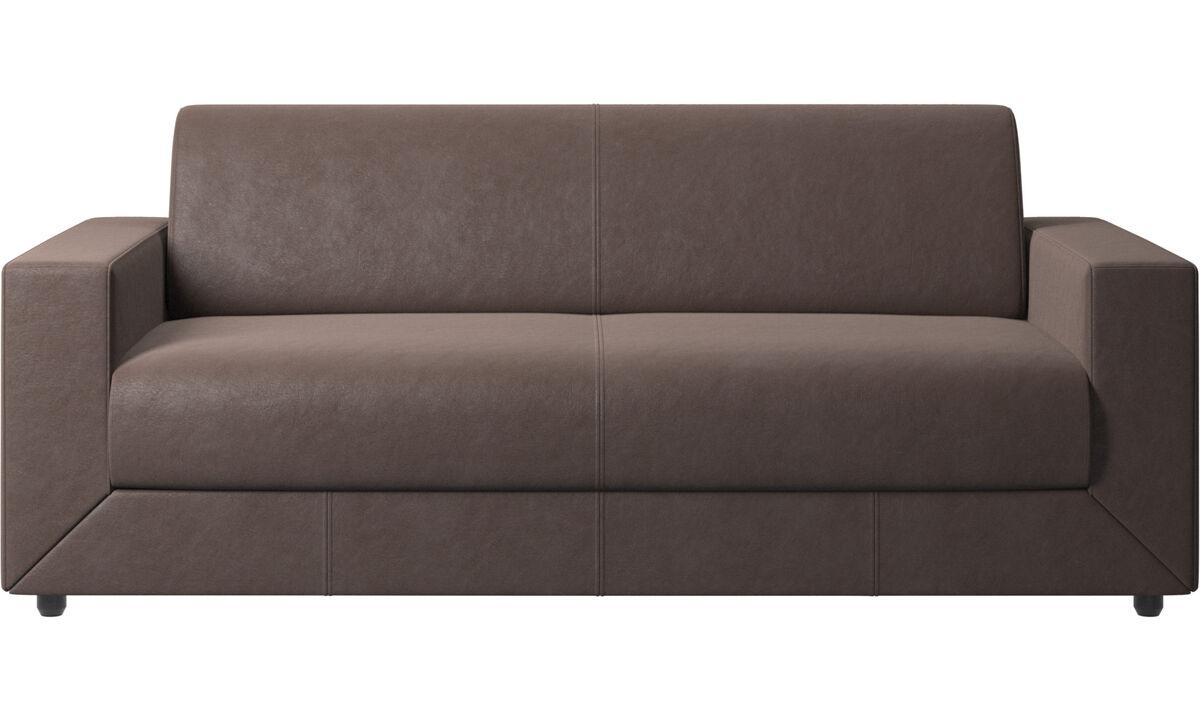 沙发床 - Stockholm 沙发床 - 褐色 - 革