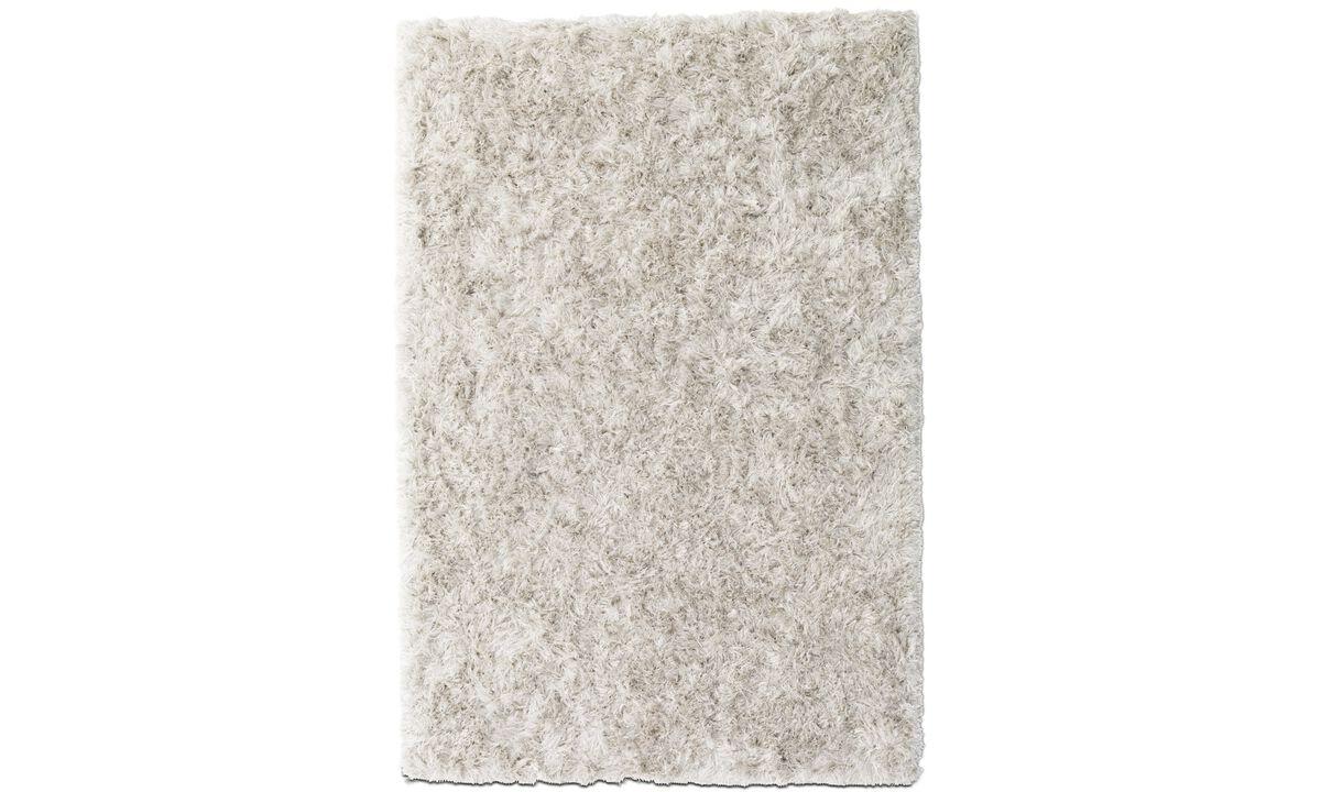 Alfombra rectangulares - Alfombra Monika - rectangular - En beige - Tela