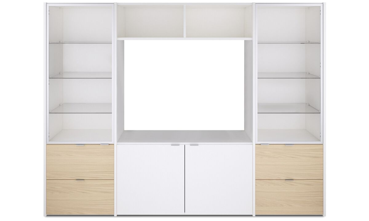 Wall systems - Copenhagen wall system - White - Lacquered