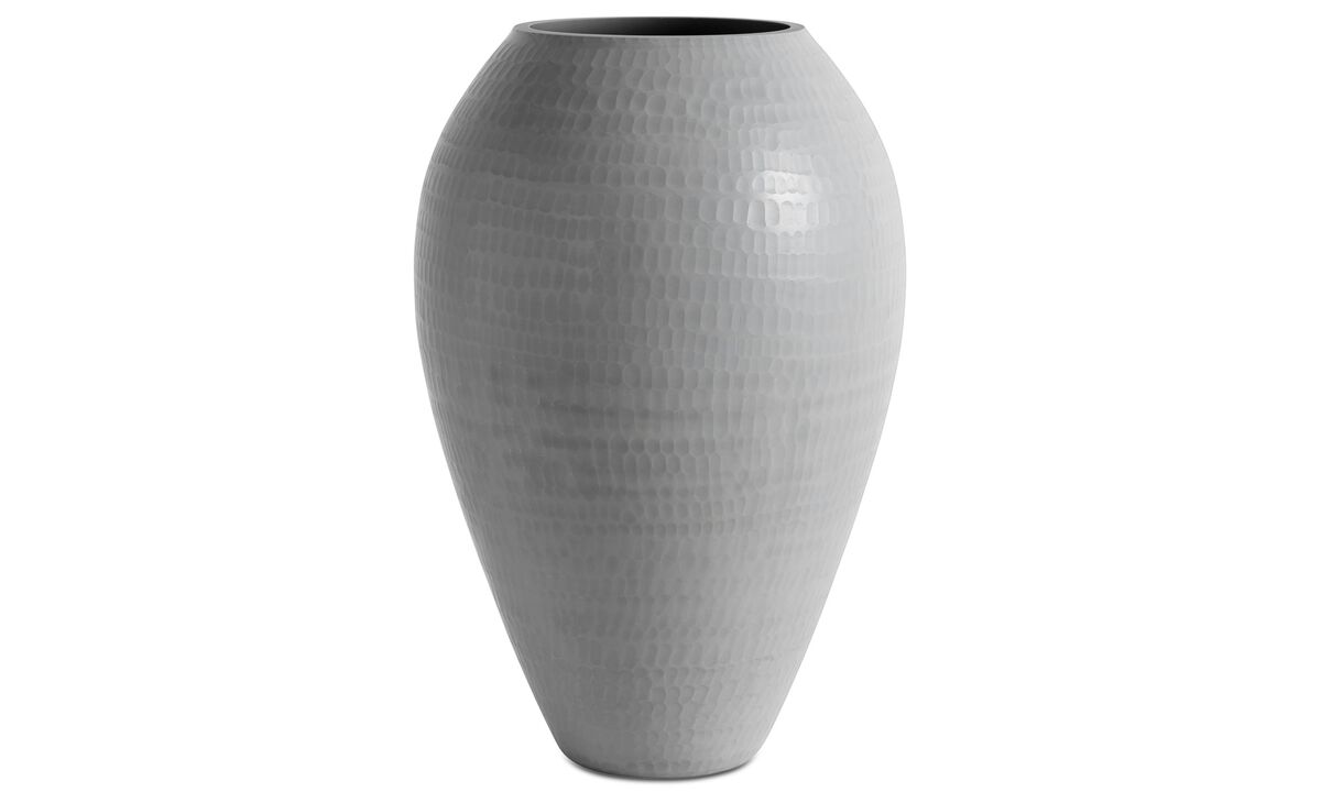 Vases - Cuba vase - Grey - Glass