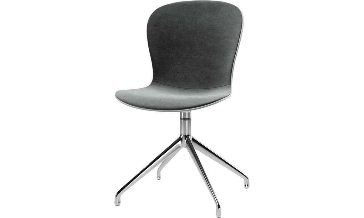Dining chairs - scaun Adelaide cu functie de pivotare - Verde - Tesatura