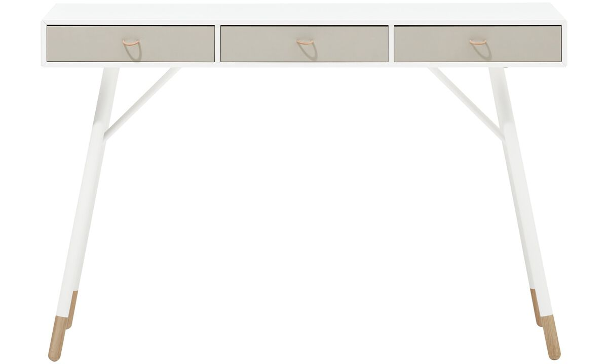 New designs - Cupertino console table - square - White - Lacquered