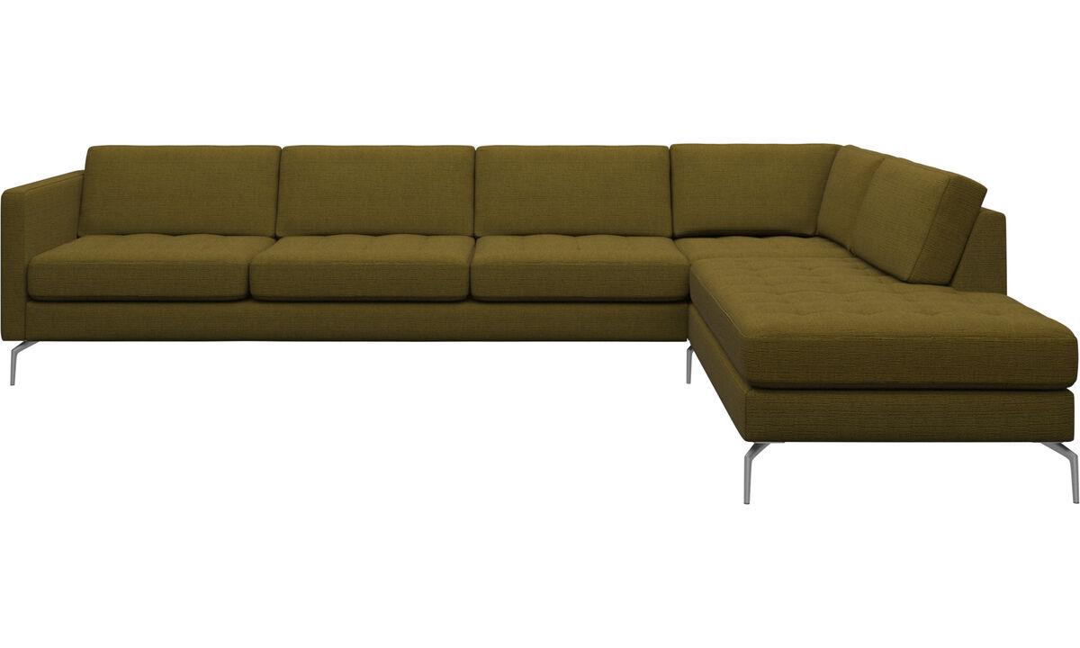 canap s avec m ridienne modernes qualit boconcept. Black Bedroom Furniture Sets. Home Design Ideas