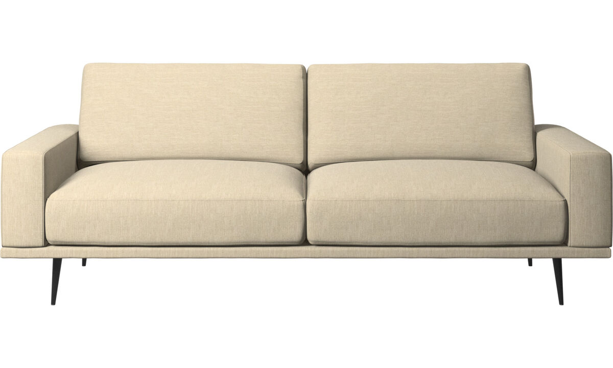 2.5 seater sofas - Carlton sofa - Brown - Fabric