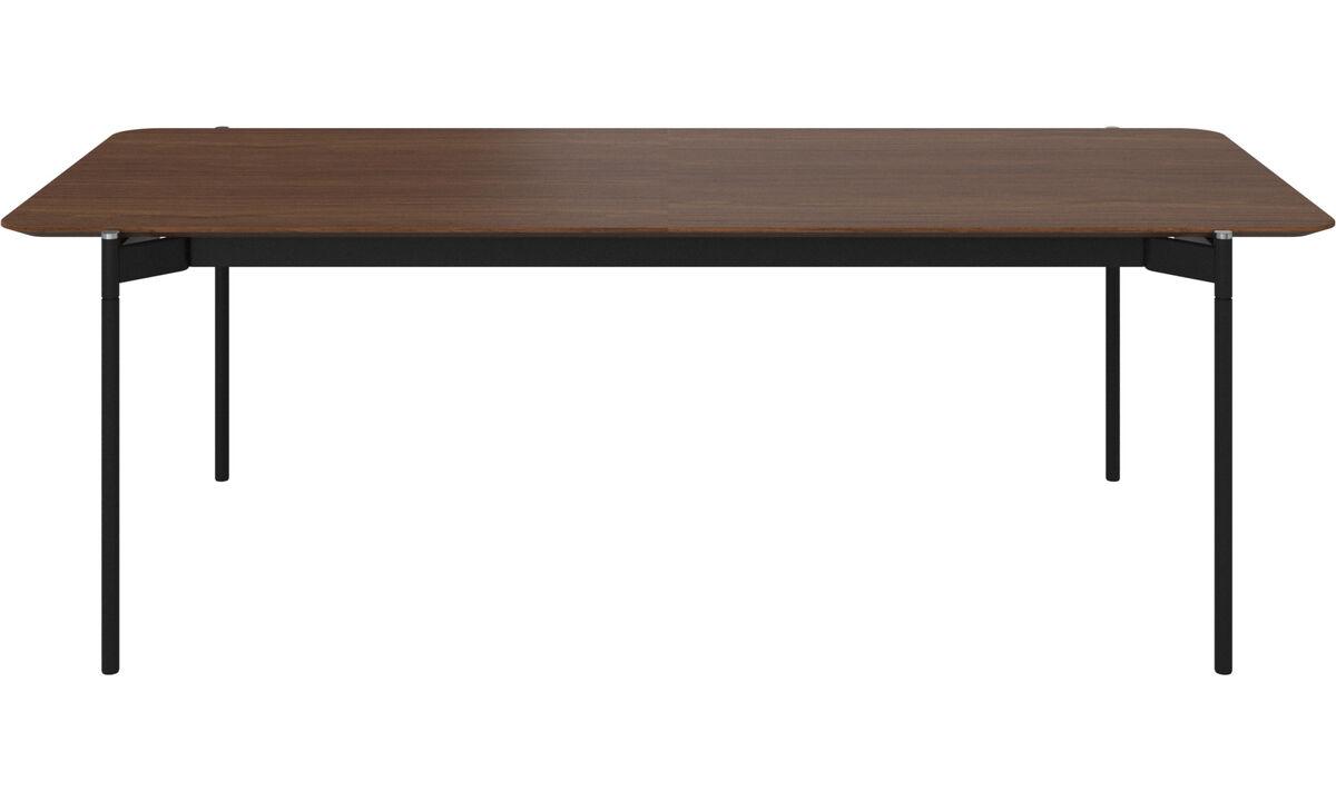 Dining tables - Augusta tavolo con piano supplementare - rettangolare - Marrone - Noce