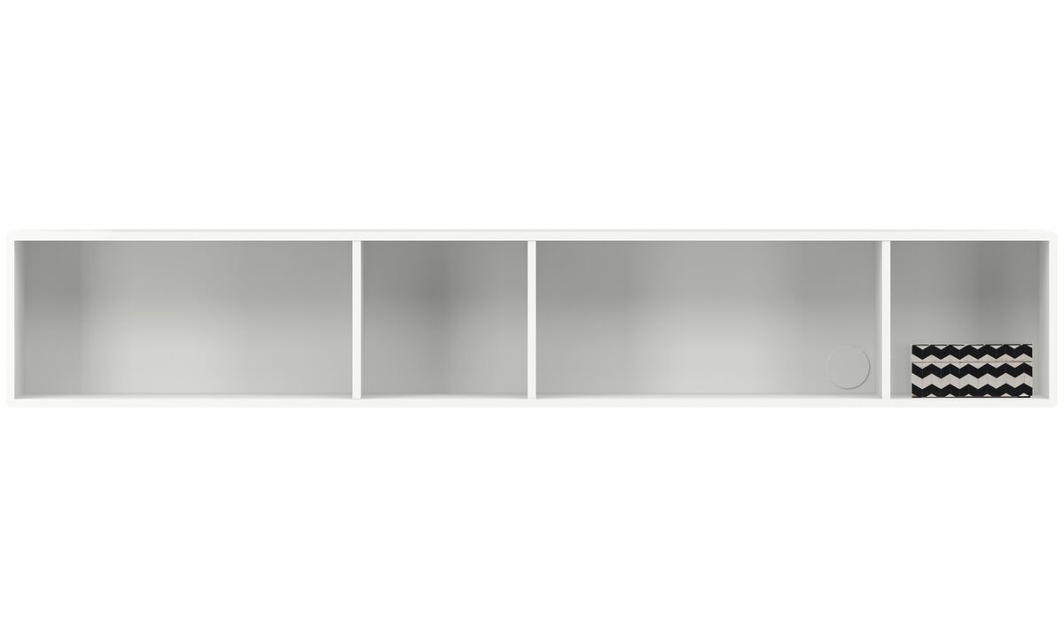 New designs - Como bookcase - White - Lacquered