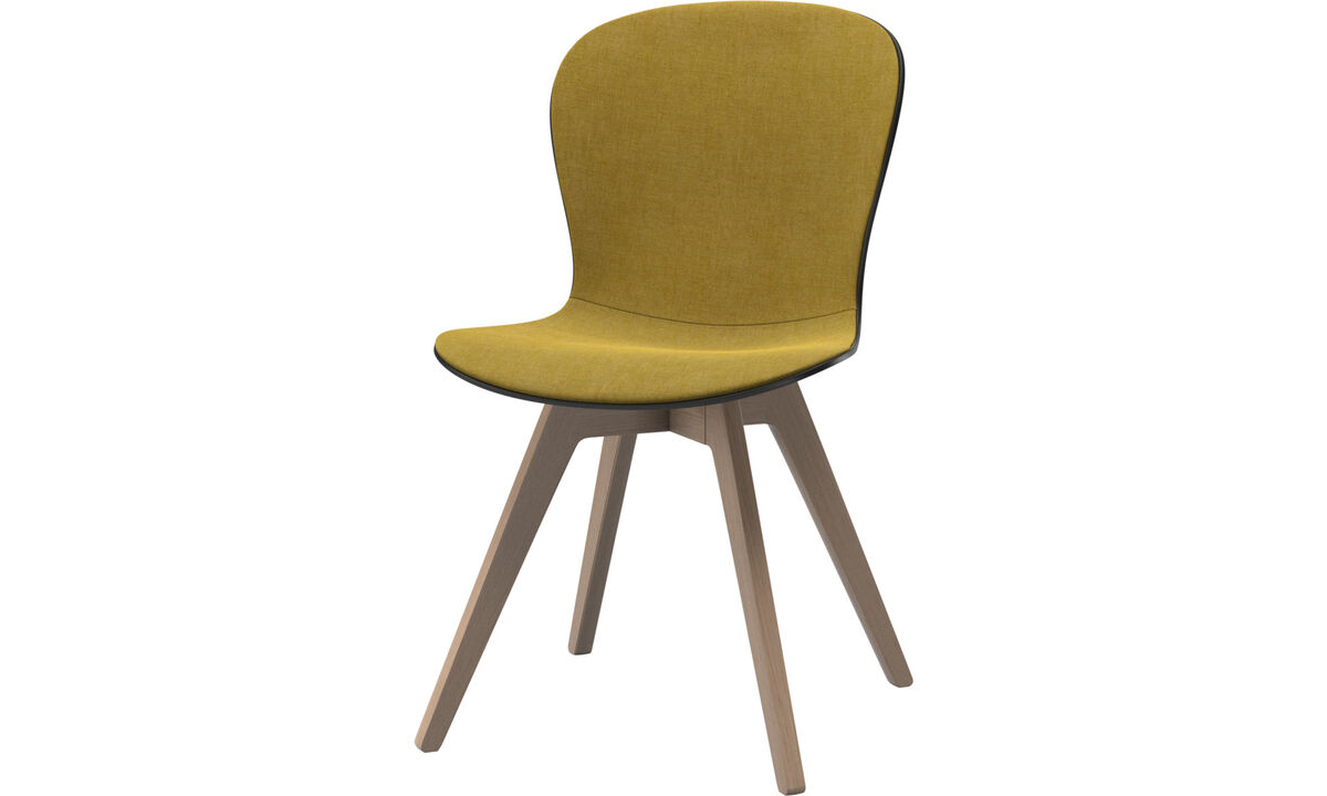 Dining Chairs Singapore - Adelaide chair - Yellow - Fabric