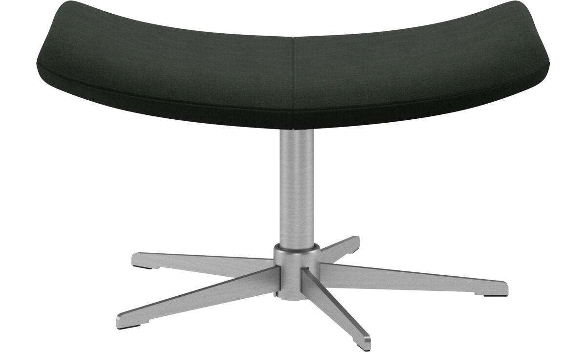 Footstools - Imola footstool - Green - Fabric