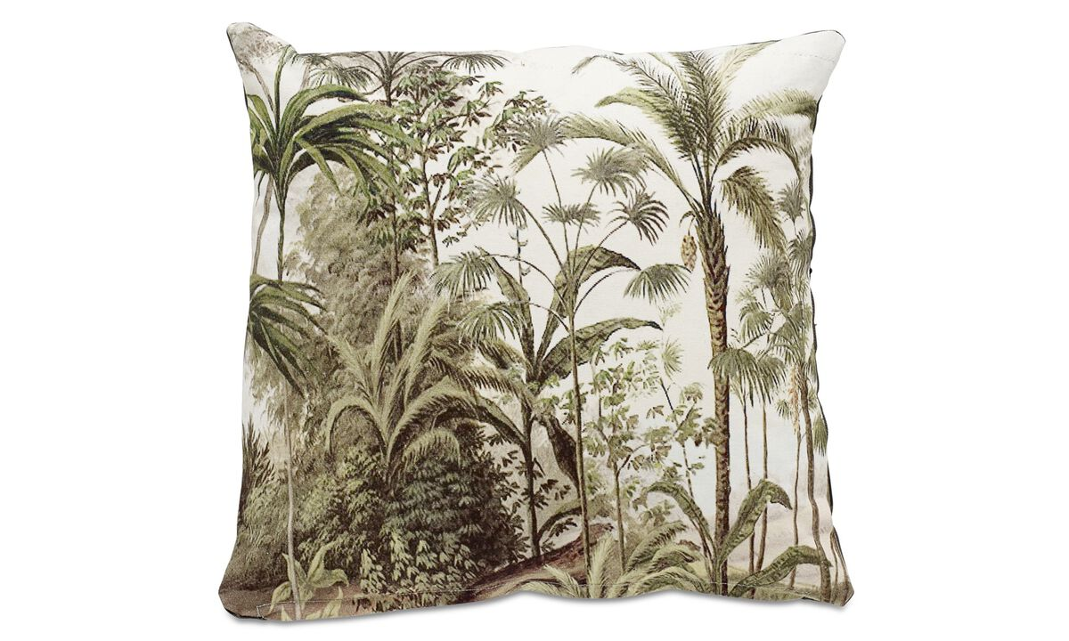Cushions - Palm cushion - Green - Fabric