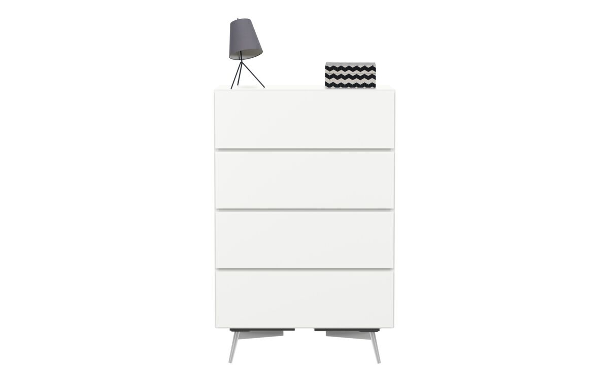 Chests of drawers - Lugano chest - White - Lacquered