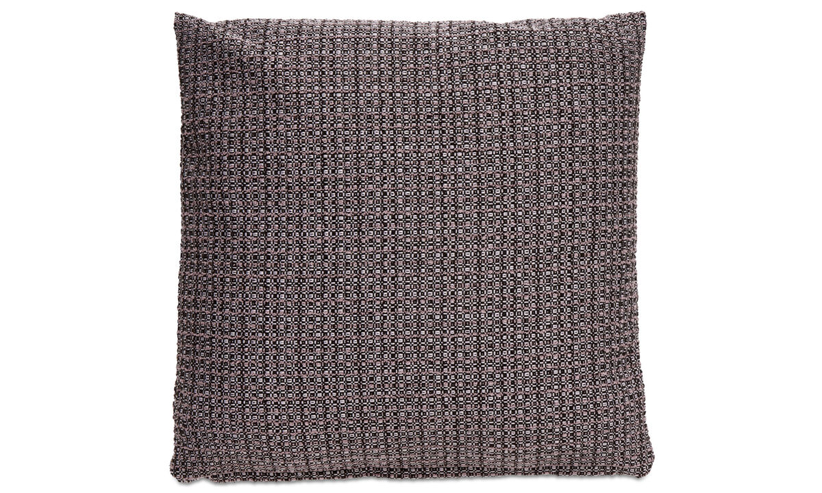 Patterned cushions - Rustic cushion - Purple - Fabric