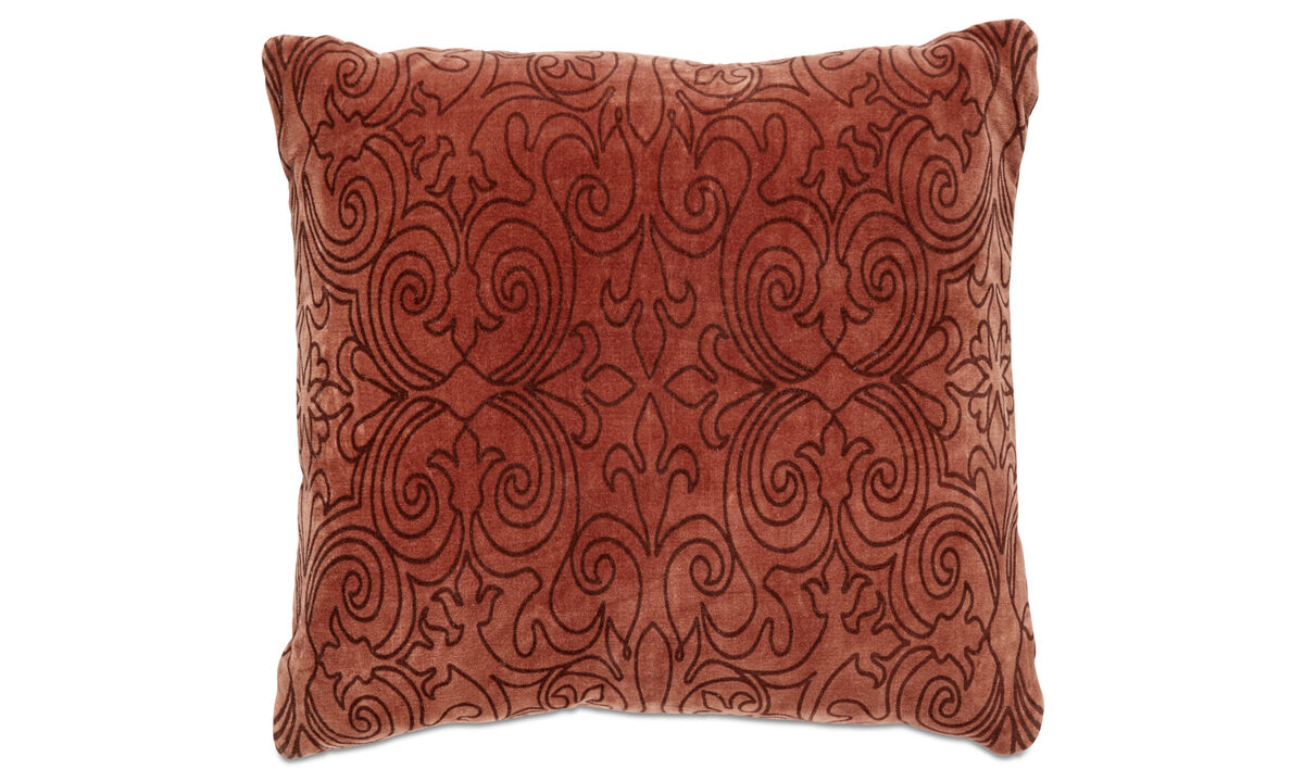 Patterned cushions - Pigment cushion - Red - Fabric