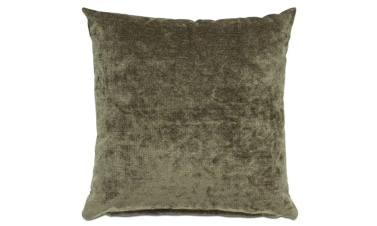 Velvet cushions - Velvet rough cushion - Green - Fabric