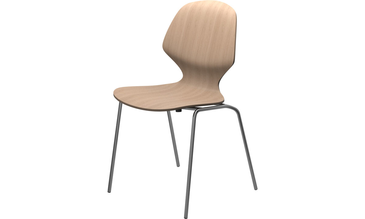 Dining Chairs Singapore - Florence chair - Brown - Oak