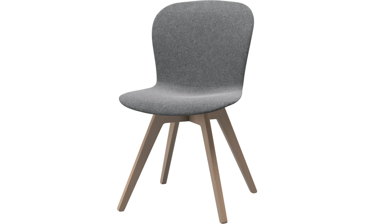 Dining chairs - Adelaide chair - Grey - Fabric