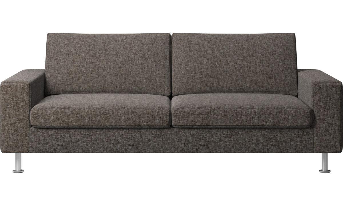Sofa beds - Indivi divano letto - Marrone - Tessuto
