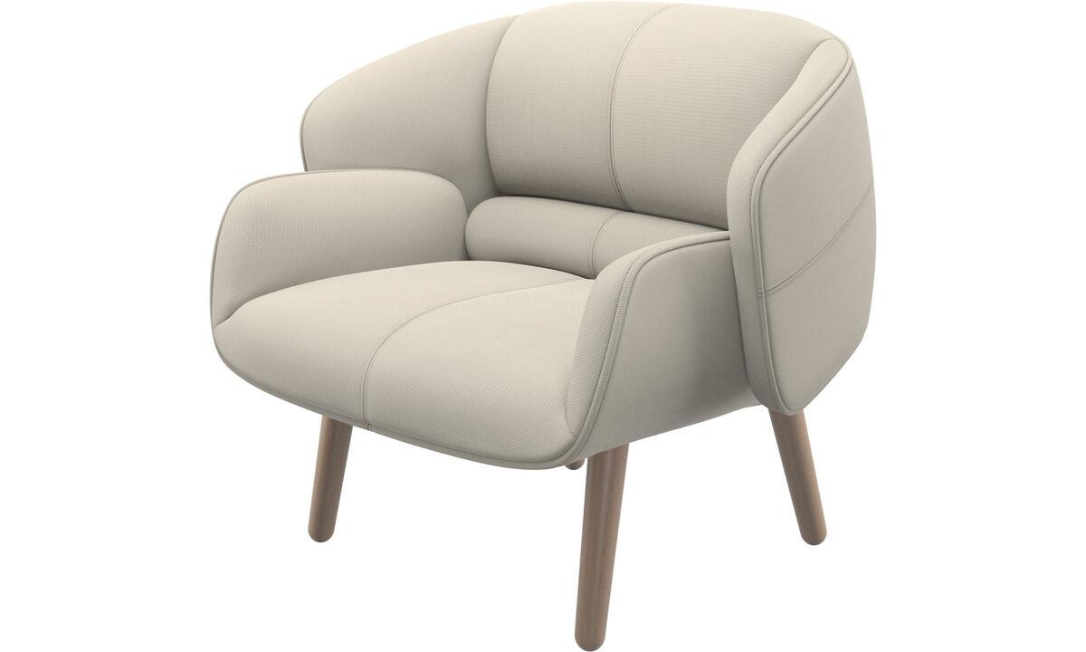 休闲椅 - fusion椅子 - 白色 - 布艺