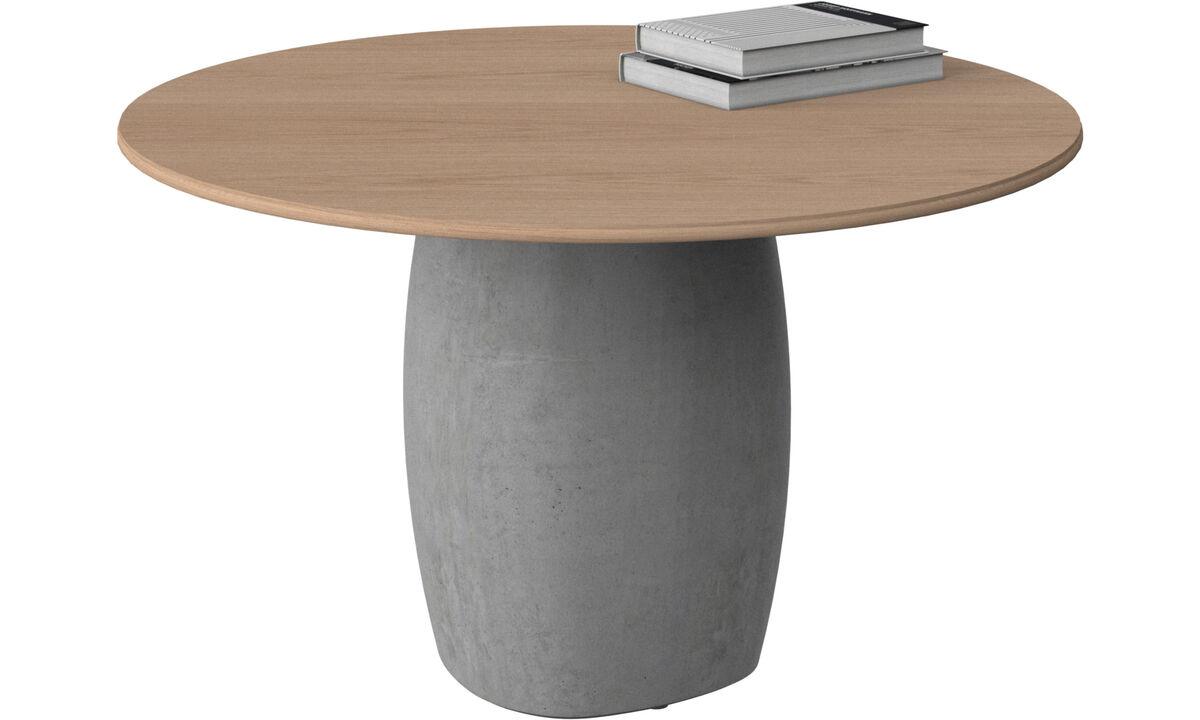 Coffee tables - Bilbao tavolino - rotonda - Marrone - Rovere