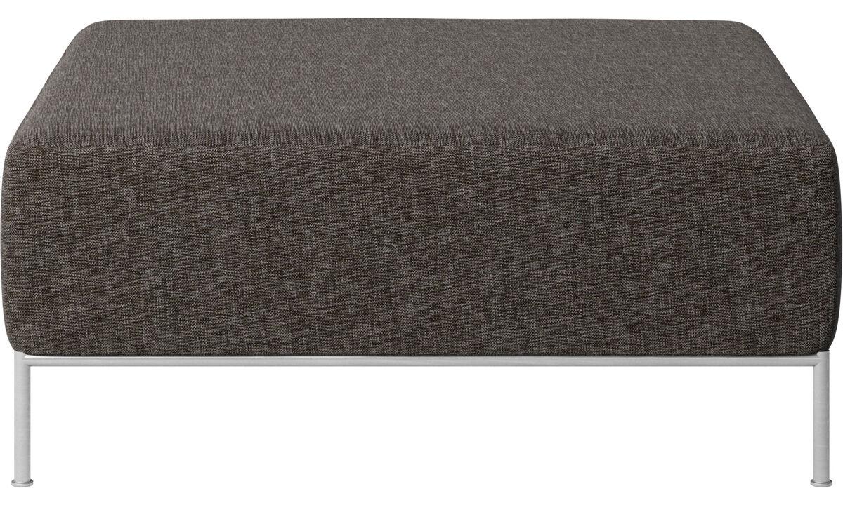 Modulære sofaer - Miami puf - Brun - Stof
